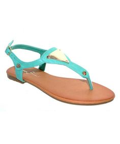 153b66bafa4c Mint Green Susan Embellished Sandal by Fashion Focus