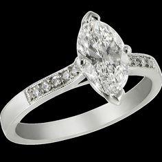 Diamond Engagement Rings Marquise 14