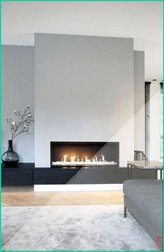 moderner Wohnzimmerkamin 1 Source by SandyMarry The post moderner Wohnzimmerka. - moderner Wohnzimmerkamin 1 Source by SandyMarry The post moderner Wohnzimmerka… contempo - Wall Units With Fireplace, Living Room Decor Fireplace, Home Fireplace, Fireplace Remodel, Living Room Tv, Home And Living, Modern Living, Modern Fireplaces, Fireplace Ideas