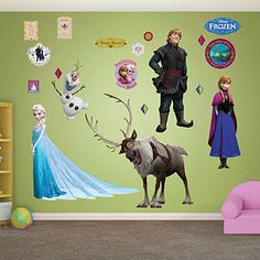 Since I can't really paint McKinzi's room, I think I may get a couple fatheads(probably just 2 maybe 3) depending on which one mckinzi likes. :)