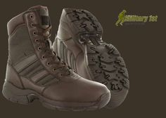 Military1st: Magnum Panther Boots Brown