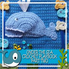 "Under the Sea playbook - This is a crochet version of a ""Quiet Book"""