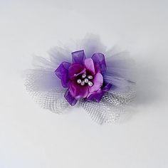Silke og tyl bryllup / fest blomst – DKK kr. 38