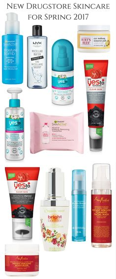 There area a lot of new drugstore skincare picks popping up for the Spring 2017 season! NYX has launched a new skincare selection that includes a new micel