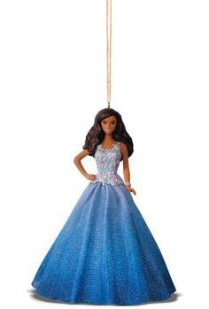 Hallmark Keepsake Holiday Barbie™ Ornament - Blue Dress | The Barbie Collection