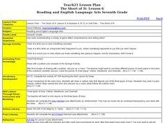 Irony in O. Henry's Gift of the Magi Lesson Plan   Lesson Planet