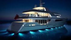 its one of vision because i love sea and i wish  to have yacht same this size to have all my friends and family in it