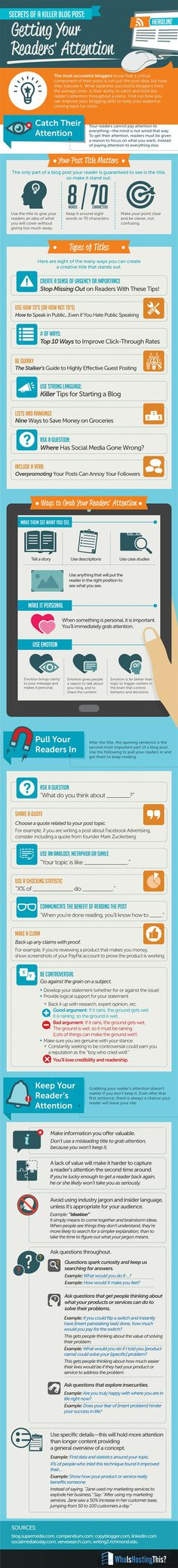 31 Amazing Blogging Tips that Will Grab Your Readers Attention