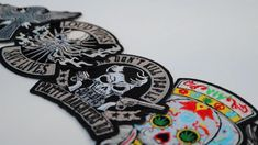 Small Patches Biker Patches, Iron On Patches, Cross With Wings, Mommys Boy, Biker Wear, Pink Skull, I Love My Dad