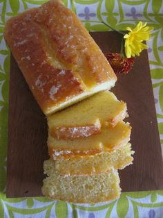Orange Yogurt Loaf Cake @Diana Faaberg ITS MY FAVORITE