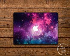 MacBook Vinyl Decal Galaxy MacBook Air Sticker by EvieLindDesigns Macbook Air Stickers, Macbook Air 13 Case, Galaxy Theme, The Little Mermaid, Ariel, Vinyl Decals, Iphone Cases, Technology, Decoration