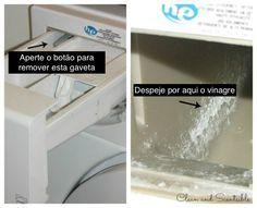 Usando estes 2 ingredientes, sua máquina de lavar vai cheirar e brilhar como nova. Genial… - Receitas e Dicas Rápidas