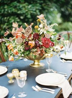 REVEL: Autumn Tablescape
