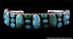 Navajo Turquoise Bracelet circa 1920