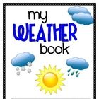 On sunny days I like to _________. a little book to tie writing to our weather unit $2