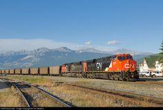RailPictures.Net Photo: CN 2831 Canadian National Railway GE ES44AC at Jasper, Alberta, Canada by Tim Stevens