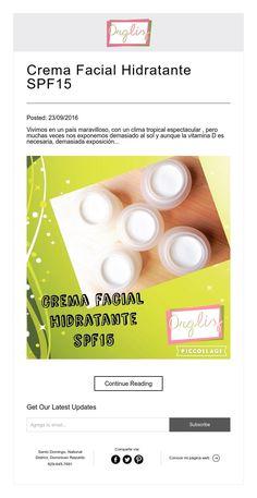 Crema Facial Hidratante SPF15
