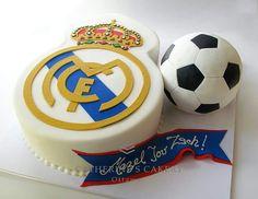 Football cake Real Madrid                                                                                                                                                     Más