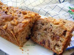 המערוך המקפץ: עוגת תפוחים ותמרים בחושה