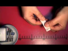 ▶ How to fold a chopstick-rest by using a paper-chopstick-holder - YouTube