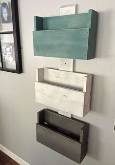 DIY Ideas To Use Pallets To Organize Your Stuff