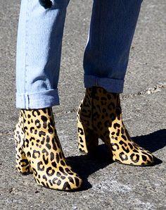 Trending: Leopard Print Shoes | SHOP the look | ankle boots