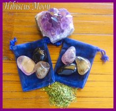 Car protection crystal mojo kit...read how here: http://hibiscusmooncrystalacademy.com/crystals-for-car-protection/