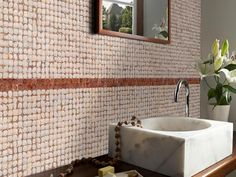 Kirei Coco Tiles are manufactured from ECO friendly reclaimed coconut shells remaining after harvest, plus low- or zero VOC adhesives and finishes.