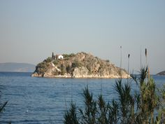 Tolo, Greece -- I kayaked to that island!! :)