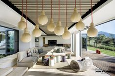Interior design for Pearl Valley 334 House in Cape Town, South Africa by Antoni Associates