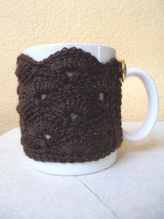 Items similar to Crochet Mug Sweater,Cosy Mug Sweater , Mug Sweater with 2 gorgeous buttons! on Etsy Coffee Mugs, Tableware, Etsy, Sweaters, Handmade, Dinnerware, Hand Made, Coffee Cups, Sweater