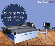The use of digital finishing systems like #CNCknife cutters can achieve business objectives. Get the best systems in form of digital express & graph X #cutter.