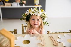 """Little Honey Bee Party. The Scarlett Collection. """"Party in a box. 1st Birthday Themes, First Birthday Decorations, 1st Birthday Girls, First Birthday Parties, First Birthdays, Birthday Ideas, Girl Parties, Daisy Party, Bee Party"""