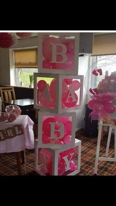 How To Make Baby Shower Boxes With Name : shower, boxes, Elegant, Shower, Ideas, Shower,