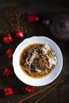 Gyudon met shichimi Gyudon, Land, Foodies, Oatmeal, Japan, Breakfast, The Oatmeal, Rolled Oats, Japanese Dishes