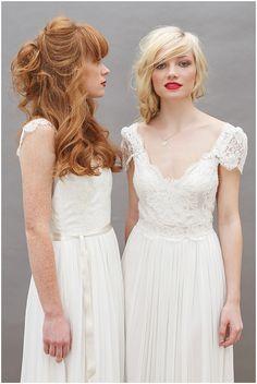 Boho Chic Wedding Dresses | Dana Bolton London Bridal Designer | Photography: Kirsten Mavric