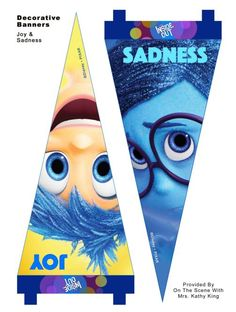 free inside out printable Decorative Banners