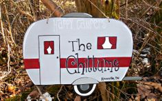 Personalized Camper Sign