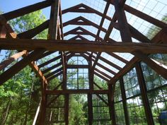 This beautiful greenhouse is one step away from being yours!!