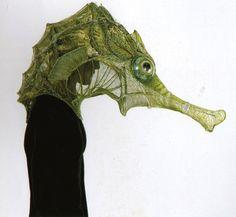 Very cool seahorse costume COSMIC MACHINE: Bêtes de scène