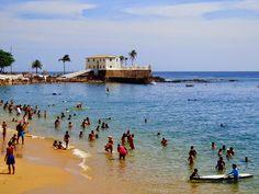 porto da barra #beach #brasil #brazil #salvador #bahia http://vanezacomz.blogspot.com.br/2014/10/nova-orla-da-barra-muito-bonita.html