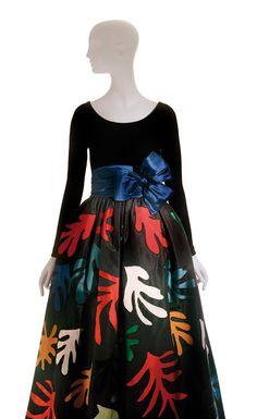 Wearable Art: Yves Saint Laurent inspired by Matisse - 1980