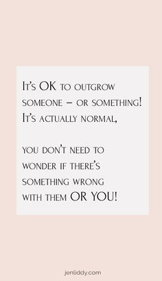 It's OK to outgrow someonw - or something! It's actually normal. You don't need to wonder is there's something rong with them OR YOU! There is something to be said for taking the time to do a social media cleanse. Taking a break from those that don't serve us any longer is something that can save you time and a portion of your mental health. Read more over on my blog about how I broke up with a copywriter that was no longer resonating with me and my business. #businesstips #lifehack… Boss Babe Entrepreneur, Entrepreneur Quotes, Business Entrepreneur, Business Marketing, Copywriter, Get What You Want, Business Motivation, Get Excited, Thoughts And Feelings