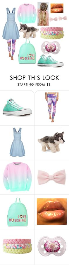 """""""Childish Much????"""" by missg-3-2017 ❤ liked on Polyvore featuring Converse, Reebok, Nat & Jules, Aloha From Deer, Forever 21 and Love Moschino"""