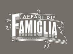 Very nice type treatment. Old Timey Goodness!    Typographic ID's - History Channel by Santiago Wardak, via Behance