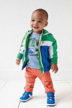Stoer Baby Boy Spijkerbroek Oranje | Babyface | Online bij www.kienk.nl
