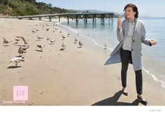 """Gap Taps Elisabeth Moss, Jena Malone, Zosia Mamet + More for Fall 2014 Ads : """"normcore"""" campaign"""