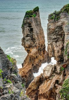 Punakaiki Pancake Rocks ~ South Island, New Zealand