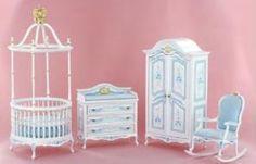 Incroyable Bespaq Miniature Nursery Furniture