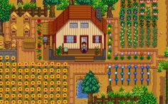 Stardew Valley- Still in development ~Stardew Valley is an open-ended country-life RPG with support for up to 4-player co-op!~